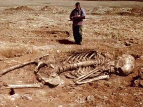 巨人の骨がギリシャで発掘される! 過去には272cmの人間もいた!