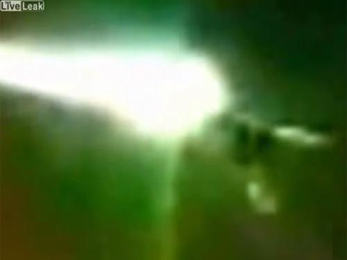 UFOがロシア隕石を破壊