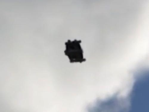 UFOか? 米軍の秘密偵察機か? 鮮明に写る衝撃映像!