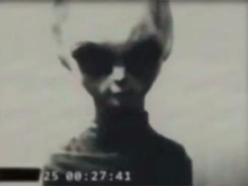 生きている宇宙人のリアル映像!? 旧ソ連のKGBが撮影