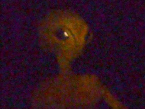 宇宙人が、花火を楽しんでいるホームビデオに映っていた!