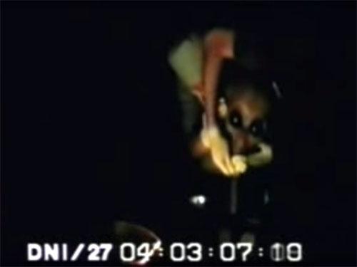 エリア51流出ビデオ、尋問される宇宙人グレイ3