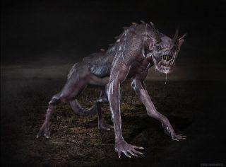 UMAチュパカブラ(吸血生物)が、家畜と人間を襲う!