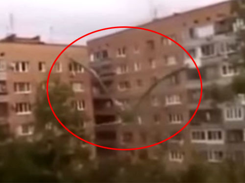 ロシアの超巨大生物・クモ男1