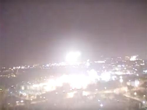 エルサレム「岩のドーム」上空のUFO 2