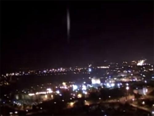 エルサレム「岩のドーム」上空のUFO 4