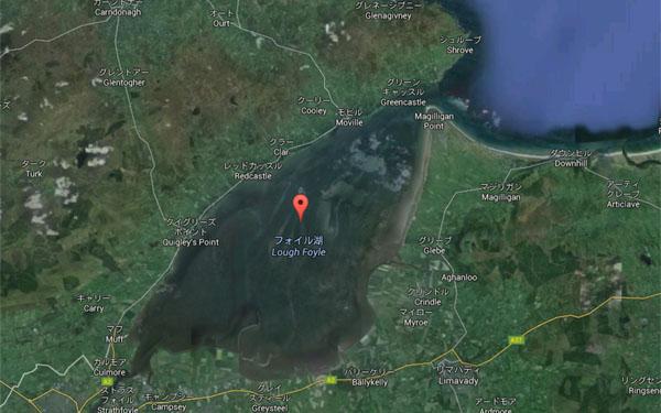 北アイルランド・フォイル湖