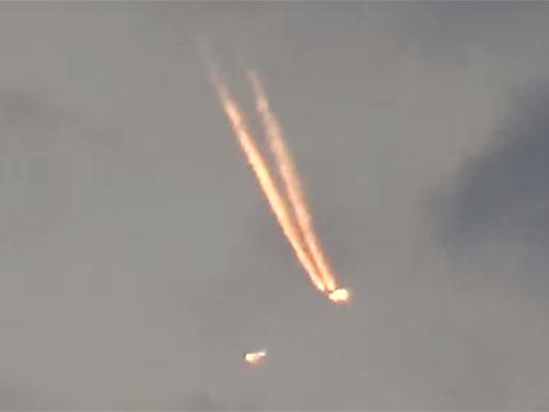 炎上するUFOが墜落!? 米国ケンタッキー州の上空に現れた不可解なUFO映像