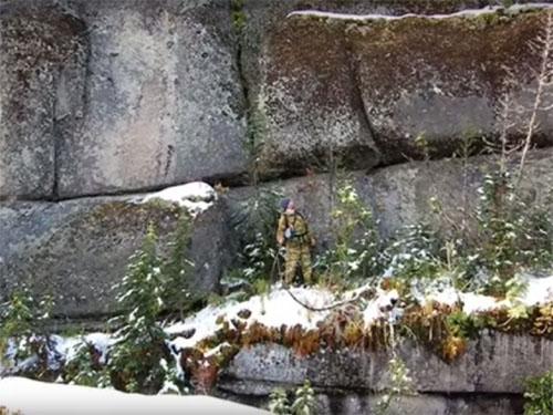 ロシアのゴルナヤ・ショリアで発見された巨石遺跡1