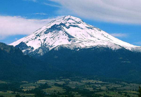 メキシコ・ポポカテペトル山