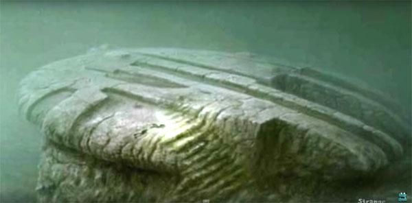 バルト海に沈んだUFO?