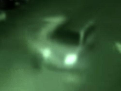 車に轢かれるシャドーピープル(シャドーマン)2