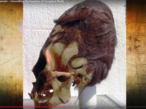 ペルーで発見されたエイリアン頭蓋骨
