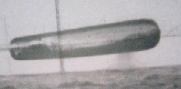 米海軍の極秘UFO写真が流出1
