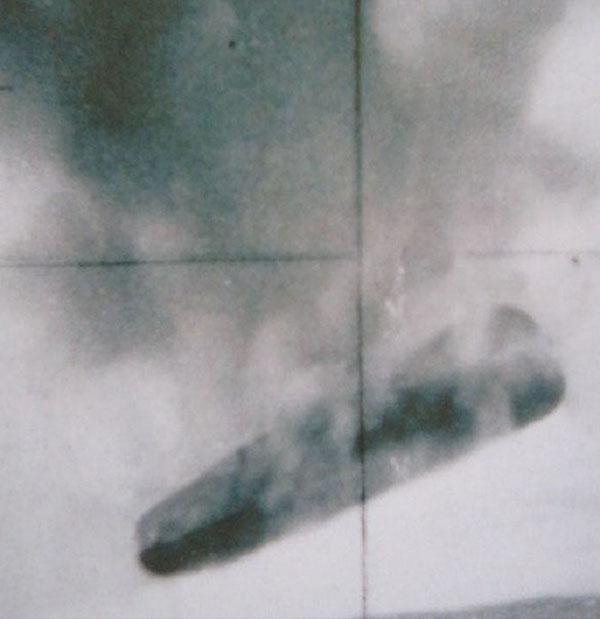米海軍の極秘UFO写真が流出2