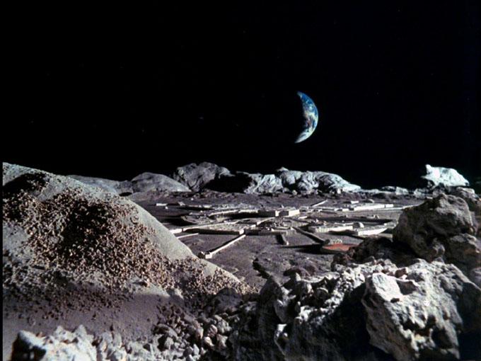 月面基地のイメージ