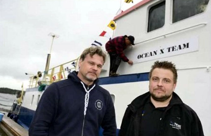 スウェーデン人トレジャーハンター「Ocean X」