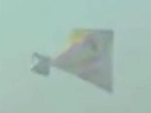 怪奇なピラミッド型UFO、中国やロシアに多く出現!!