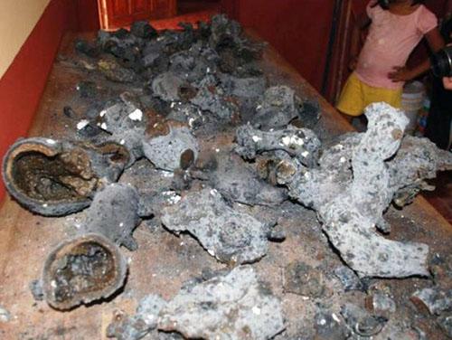 メキシコ・ユカタン半島に墜落したUFOの残骸