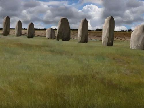 ストーンヘンジよりも古い! ストーンヘンジの傍に巨石遺跡を発見!