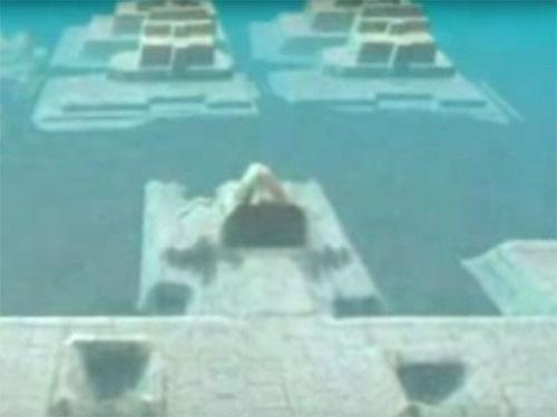 バミューダトライアングル海底に古代遺跡! クリスタル・ピラミッドもあった!