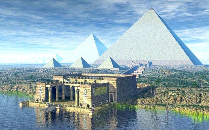 アトランティス文明のピラミッド