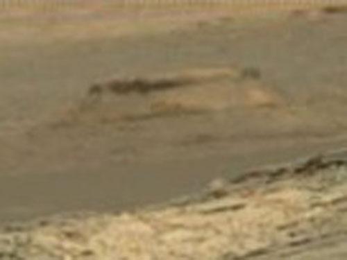 火星の不可解な構造物