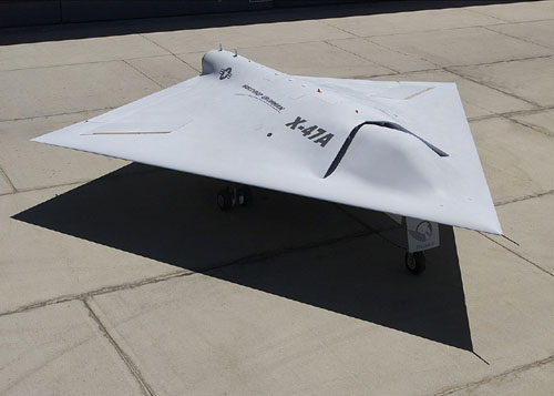 ステルス無人戦闘攻撃機「X-47ペガサス」