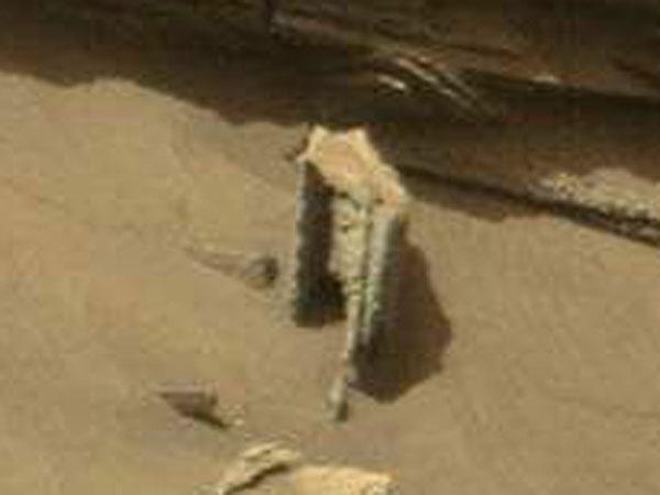 古代火星文明の遺跡のゲート