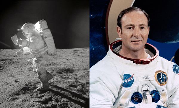 アポロ14号に搭乗した元宇宙飛行士、エドガー・ミッチェル
