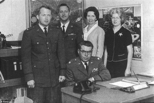 米空軍のプロジェクト・ブルーブックのメンバー