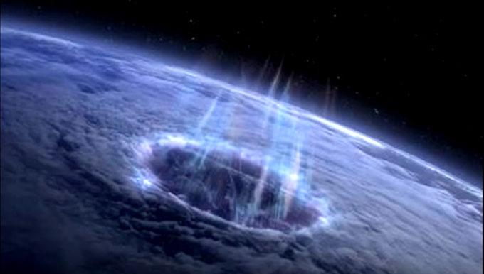 北極の穴(スターゲートのイメージ)