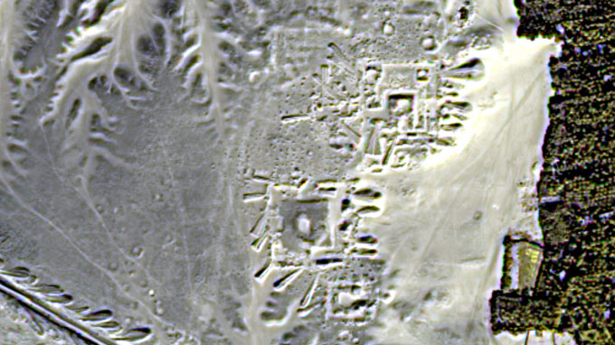 NASAが実施した南極大陸の地中探査画像