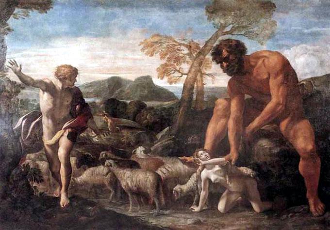 ネフィリムの巨人伝説の絵