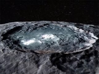 準惑星ケレスの最新映像! 謎の光点とピラミッドの正体が解明される!