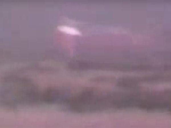 UFOが墜落して大破2