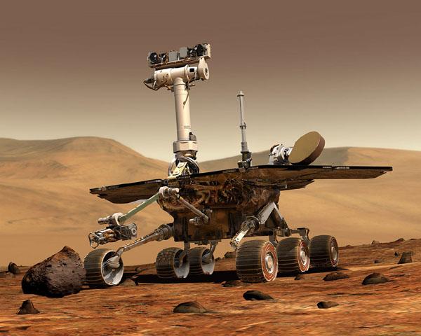 火星探査車オポチュニティ(マーズ・ローバー)