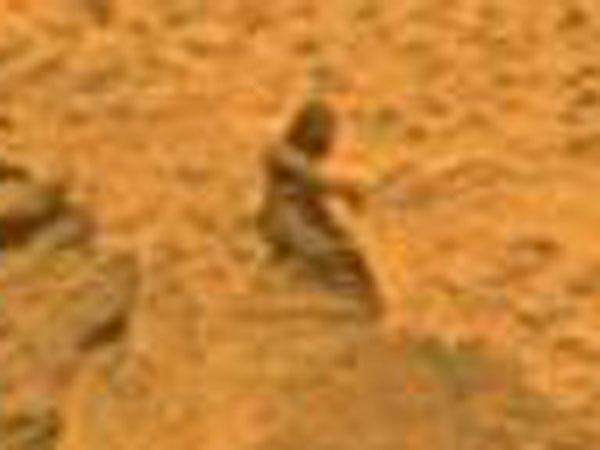 火星のエイリアン