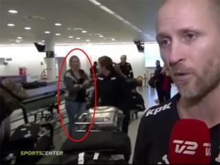 神隠しの瞬間をTVカメラが撮影! 生中継で突然、女性が消えた