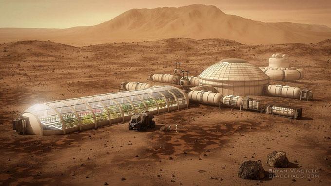 火星移住のイメージ