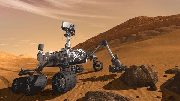 火星探査車キュリオシティ