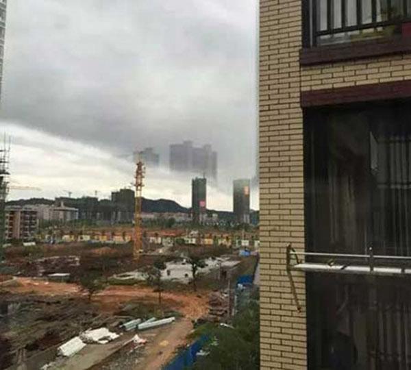 中国江西省の天空都市