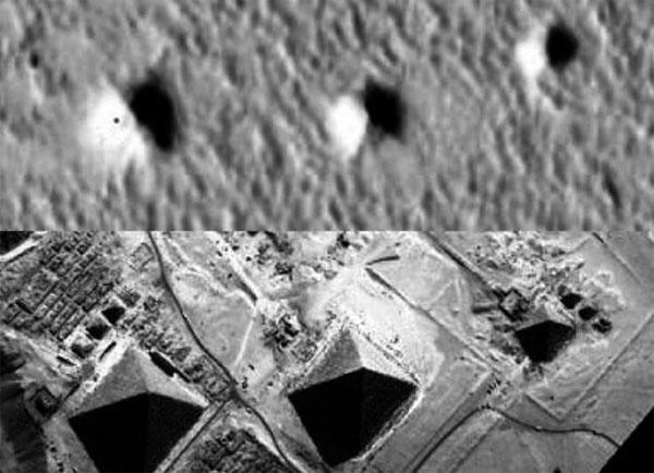 火星の三大ピラミッド