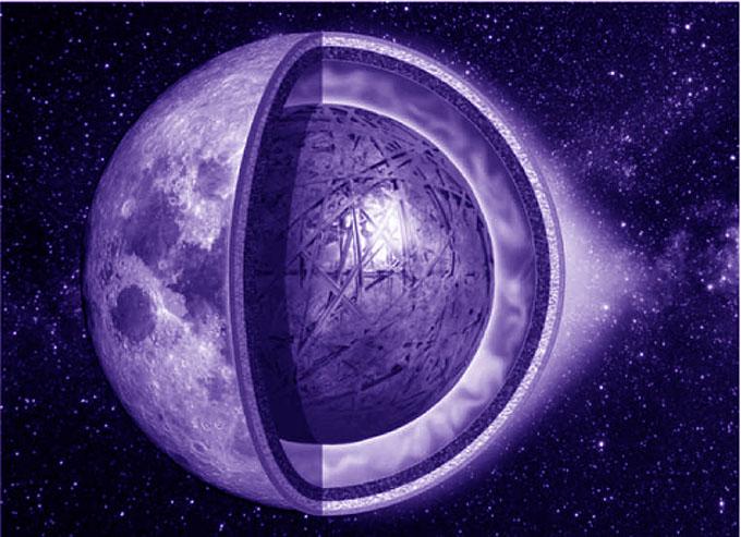 月の空洞・人工天体のイメージ
