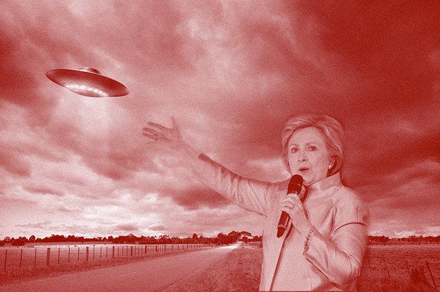 ヒラリー・クリントン氏は、UFOの機密情報開示を公約