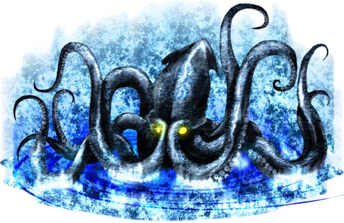 クラーケン(Kraken)のイラスト