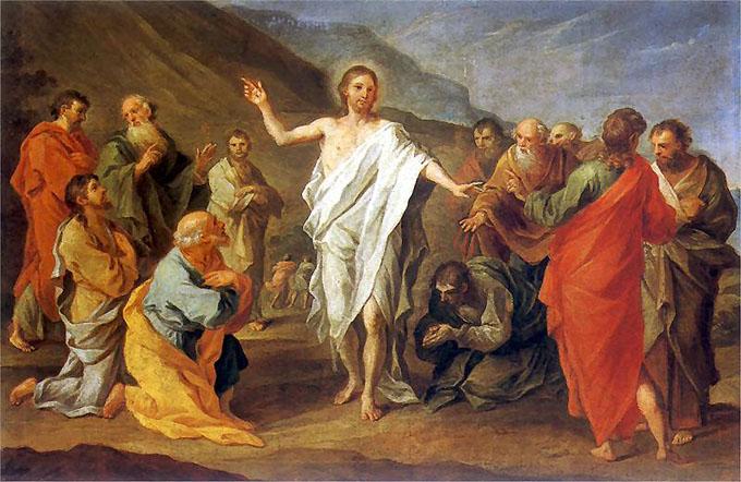 キリストの復活を描いた絵