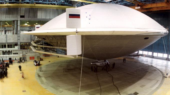 ロシア製UFOの写真