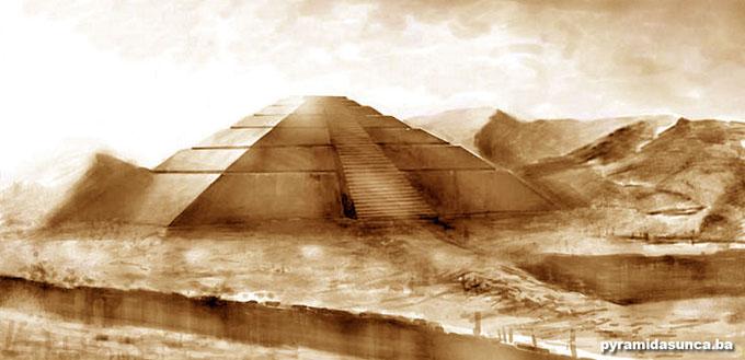 ボスニアのピラミッドのイメージ画