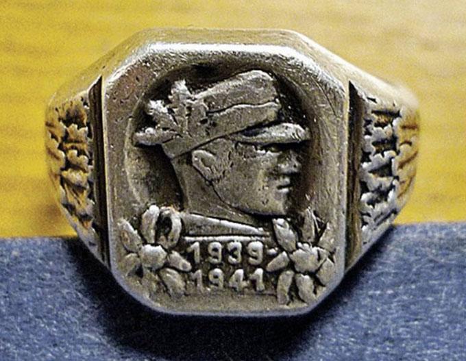 ドイツ兵の指輪